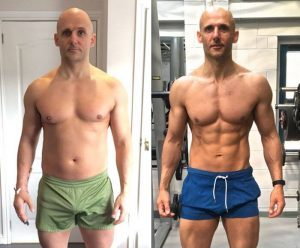 Stanozolol injection Before and After Photos